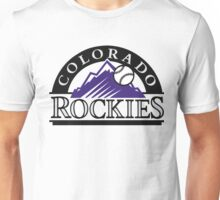 colorado rockies logo Unisex T-Shirt