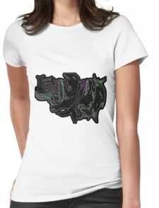 Nightmare City Womens Fitted T-Shirt