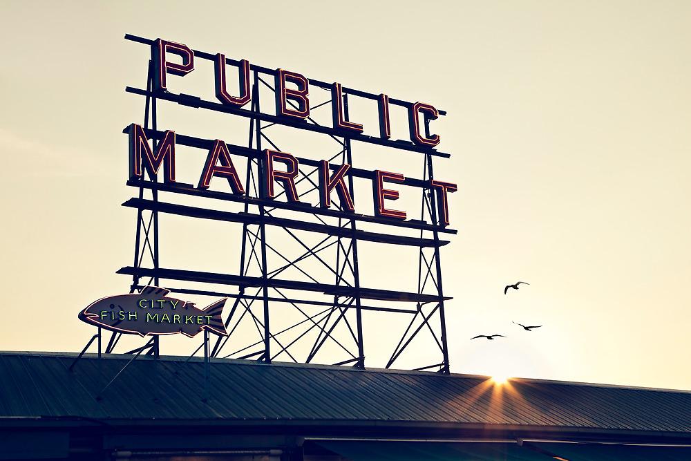 Market Sign by vividpeach