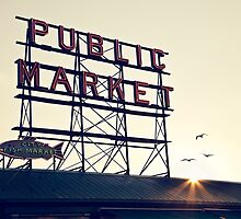 Market Sign by vividpeach