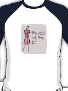What Would Lady Mary Do? Small image T-Shirt