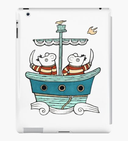 Marauding Mice (Tee) iPad Case/Skin