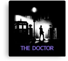 The 12th Doctor meets a new enemy. Canvas Print