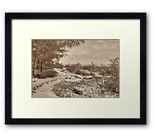 St Andrews Beach at Yamacraw on Eastern Nassau in The Bahamas Framed Print