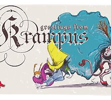 Krampus - Angry Guy Edition by Brandon Dawley