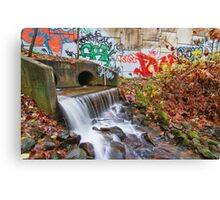 Tattooed Waterfall Canvas Print