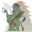 Krampus - Cup Holder by dawlism