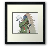 Krampus - Cup Holder Framed Print