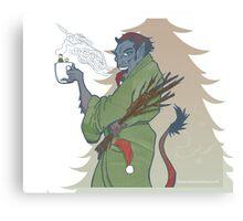 Krampus - Cup Holder Canvas Print