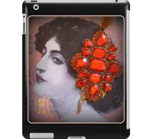 Retro Lady  iPad Case/Skin