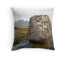 Coille Gaireallach stone Throw Pillow