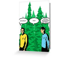 Captain's Confusion Greeting Card