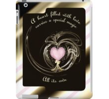 A Heart Filled..... iPad Case iPad Case/Skin