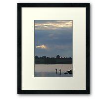 Rutland Water Framed Print
