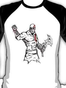 Kratos painting T-Shirt