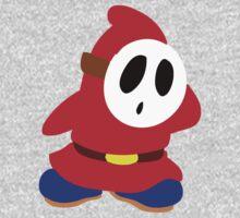 Little Red Shy Guy Kids Tee