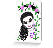 England Girl 12 Greeting Card