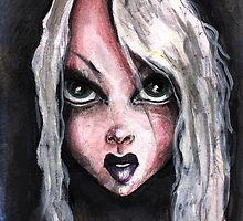 FIERCE GIRL by matthew  chapman