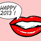 Happy 2013 from Marilyn by Delphimages