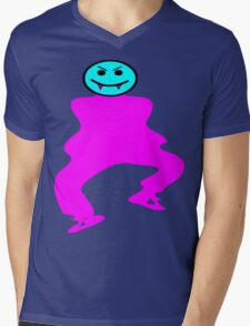 ★ټVampire Smiley Style Hilarious Clothing & Stickersټ★ Mens V-Neck T-Shirt