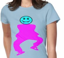 ★ټVampire Smiley Style Hilarious Clothing & Stickersټ★ Womens Fitted T-Shirt