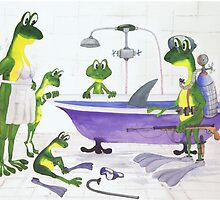 All about Frogs 7, Shark hunters by SergejK