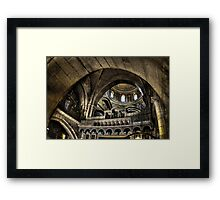 Israel, Jerusalem Old City, Interior of the Church of the Holy Sepulchre Framed Print