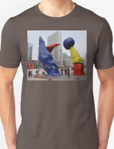 Sculptures, La Defense, Paris, France, Europe 2012 T-Shirt