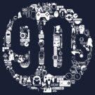 Monotone 90s nostalgia trip by DLIllustration