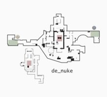 Counter Strike Global Offensive Nuke Map Baby Tee