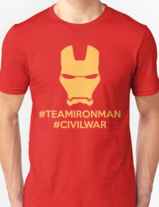 #TeamIronMan T-Shirt