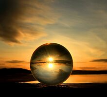 Crystal sunset Lossiemouth Scotland by Gary Power