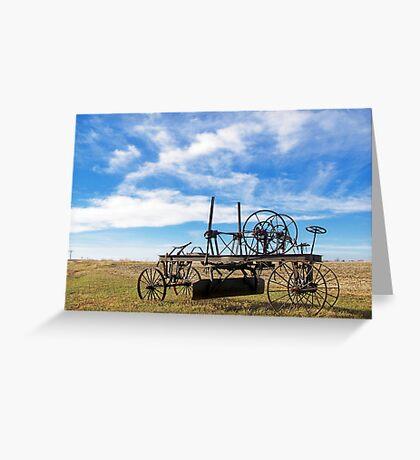 Prairie Fossil Greeting Card
