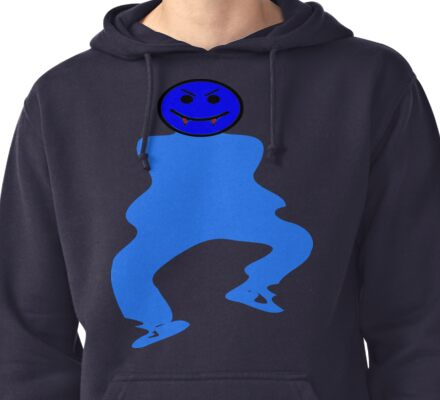 ★ټVampire Smiley Style Hilarious Clothing & Stickersټ★ Pullover Hoodie