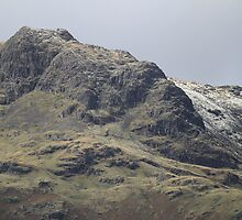 Harrison Stickle into Pavey Ark. Late November Dusting by rennaisance