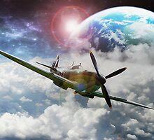 Space War Plane by Zarp