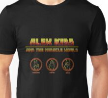 Alex Kidd and the Miracle World - Album Cover Tshirt Unisex T-Shirt