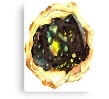 Watercolor Opal – October Birthstone Canvas Print