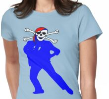 ★ټPirate Skull Style Hilarious Clothing & Stickersټ★ Womens Fitted T-Shirt