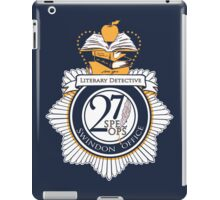 Literary Detective iPad Case/Skin