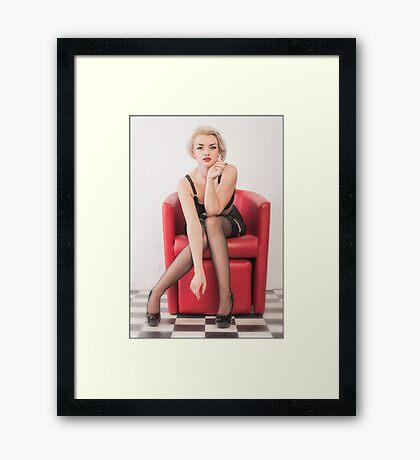 retro................. Framed Print