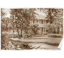 Old Plantation Style Property in Eastern Nassau, The Bahamas Poster