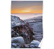 Northumberland Sunset Poster