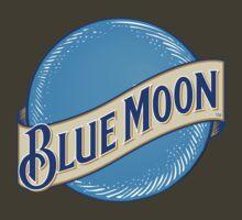 Blue Moon T-shirt by Michael Sundburg