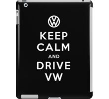 Keep Calm and Drive VW (Version 01) iPad Case/Skin