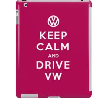 Keep Calm and Drive VW (Version 02) iPad Case/Skin