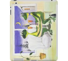 All about Frogs 1, Romantic dinner for two for iPad iPad Case/Skin