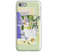 All about Frogs 8, Dinner for two for iPhone iPhone Case/Skin