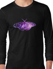 Galaxy Butterfly Long Sleeve T-Shirt