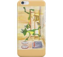 All about Frogs 2, Sauna for iPhone iPhone Case/Skin